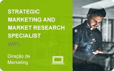 Submeta a sua candidatura para a função Strategic Marketing and Market Research Specialist.
